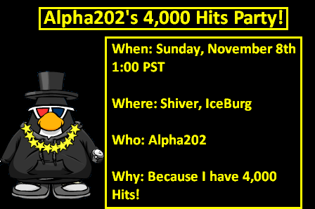 4000 hits party